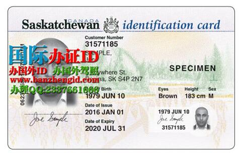 萨省IDSaskatchewan ID driver's license