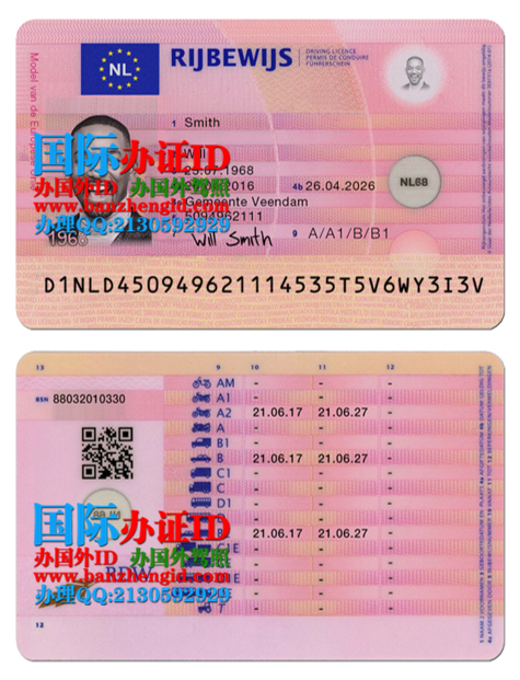 购买荷兰驾照Dutch driver's license